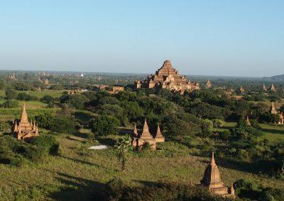 Pagodes de Bagan Birmanie
