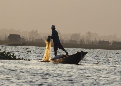 Pêcheur Lac Inle Birmanie