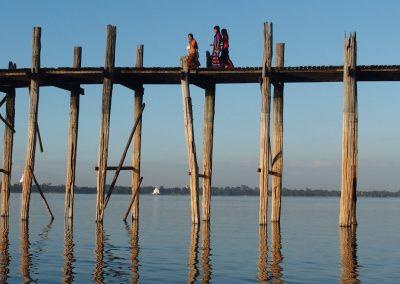 Pont U-Bein Birmanie