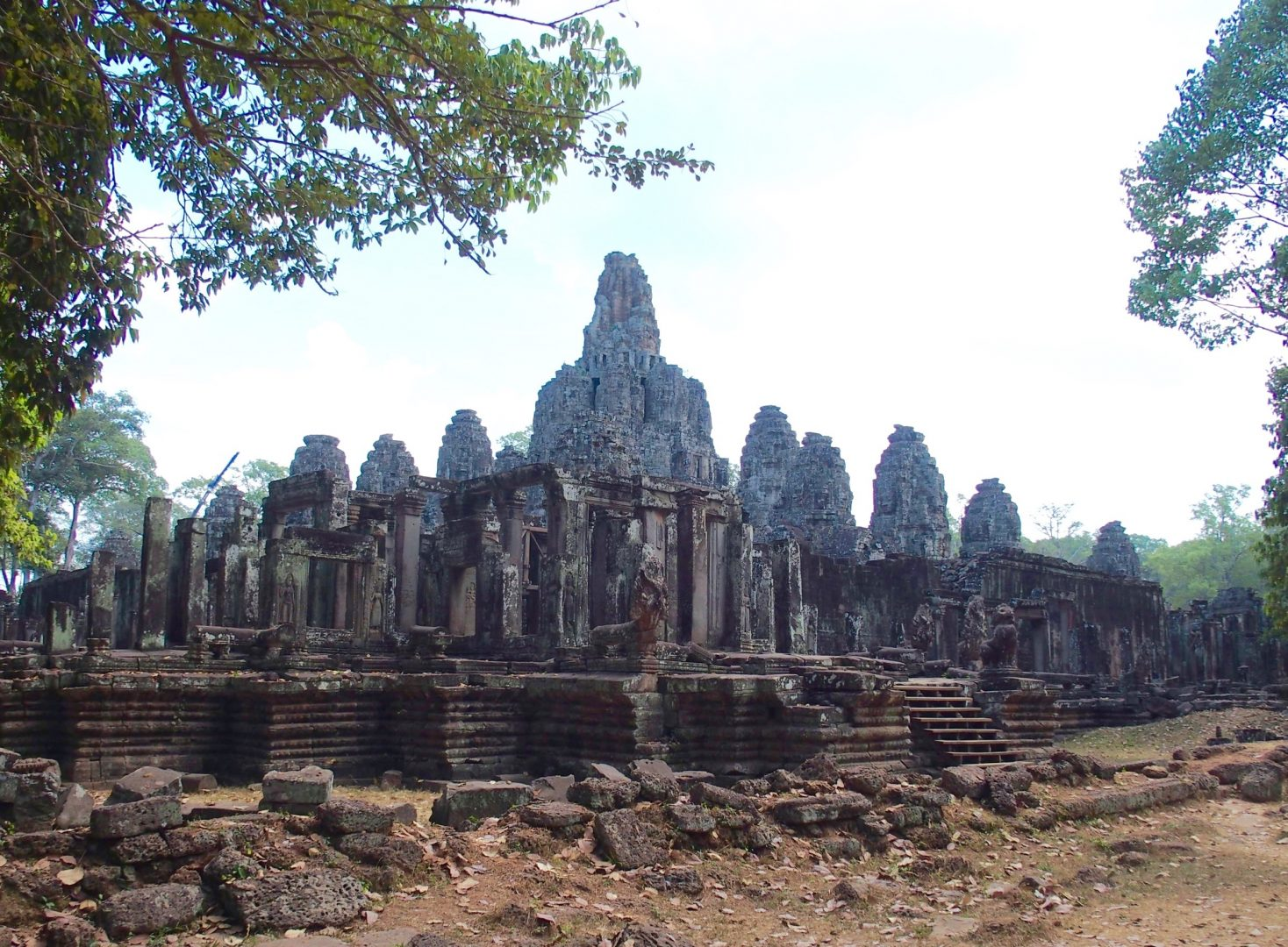 Ruines temple d'Angkor Cambodge