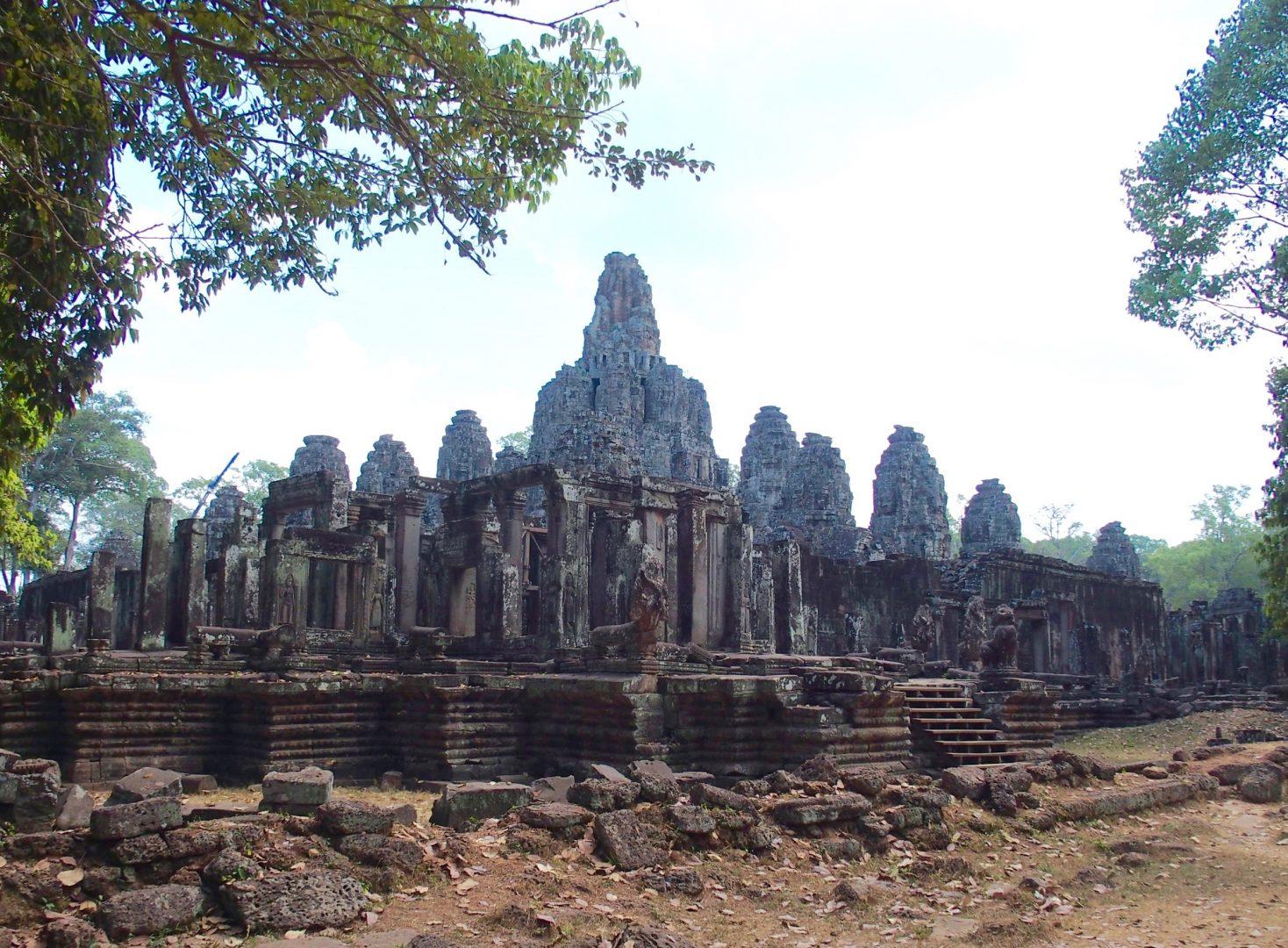 Ruines temples d'Angkor Cambodge