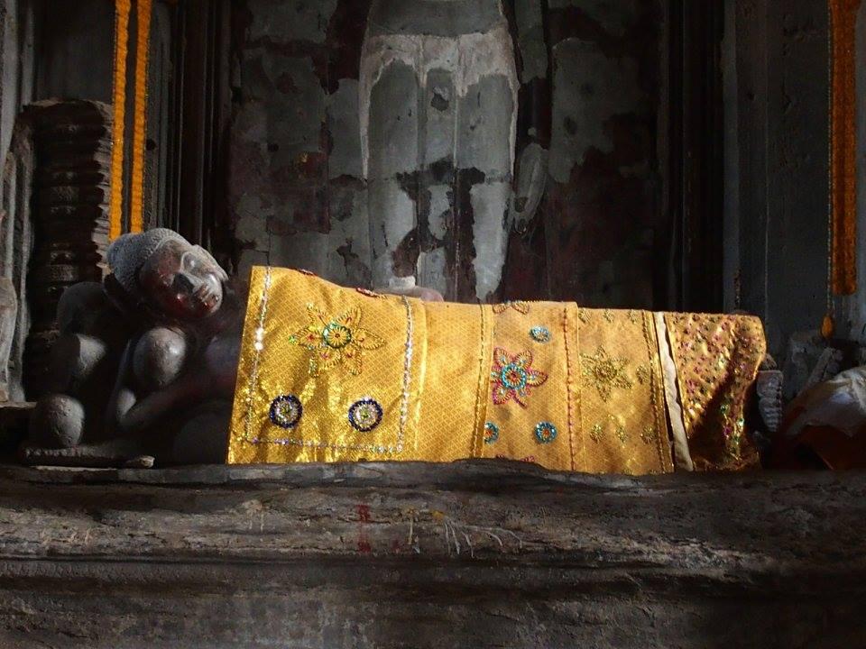 Statue Bouddha Temple Angkor Vat Cambodge