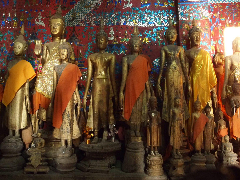 Statues Bouddha Laos