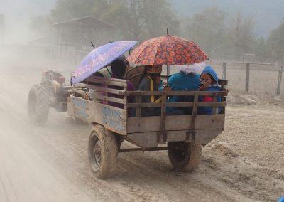 Sur la route de Pakse Laos