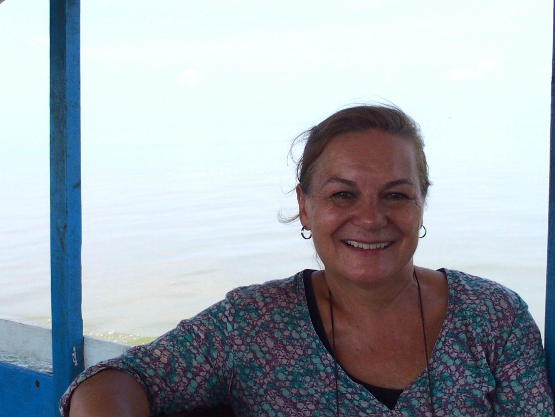 Sur le lac Tonle Sap Cambodge