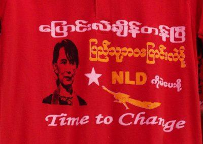 T-Shirt campagne Aung San Suu Kyi