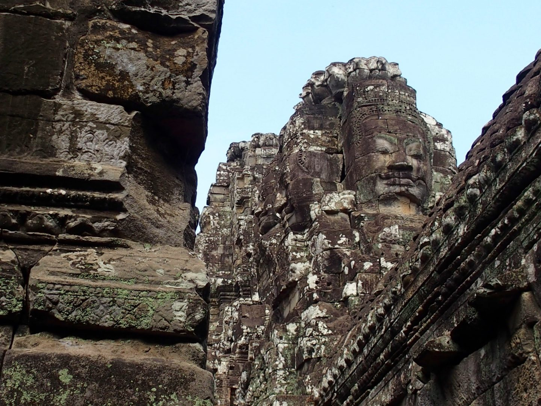 Temple Angkor Bayon Cambodge