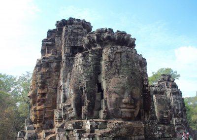 Temple Bayon Angkor Cambodge