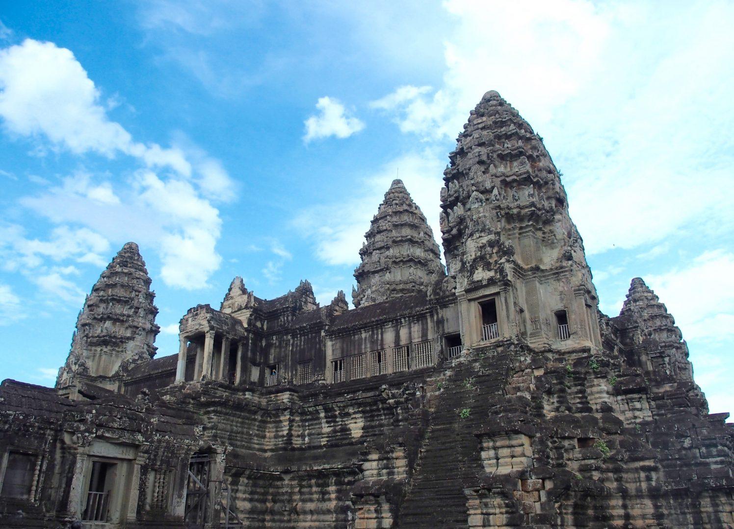 Temple d'Angkor Cambodge