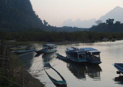 Vue du Mekong à Knong Kiaw Laos