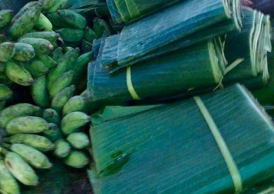 feuilles de bananier Cambodge