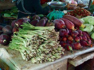 Marchés au Cambodge