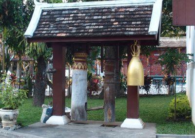 Cloche et gong Laos