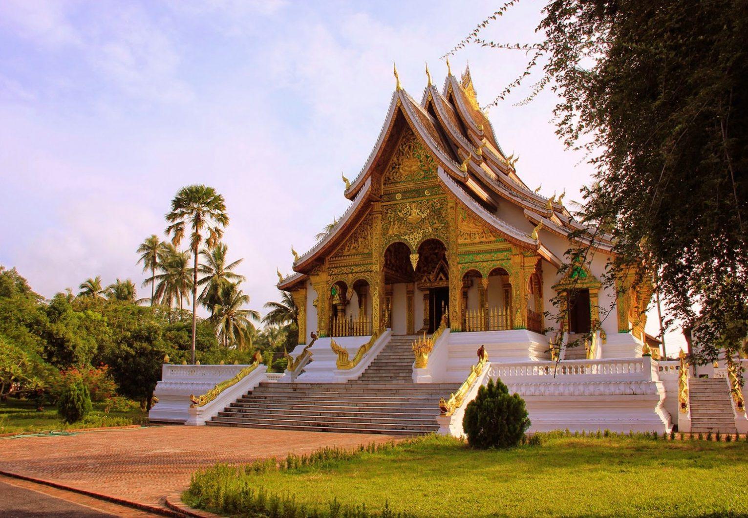 Entrée Palais Royal Luang-Prabang Laos