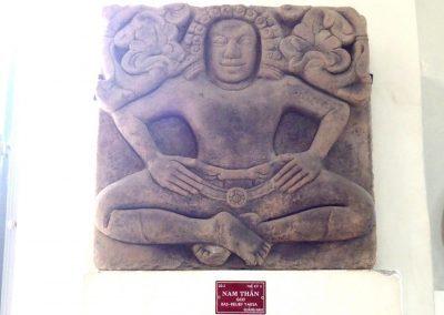 Bas-relief cham Danang Vietnam