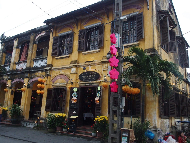 Beau restaurant Hoï An Vietnam