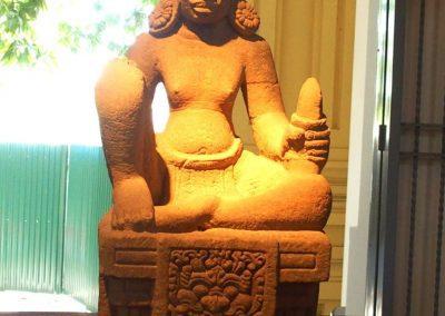 Belle statue art cham musée Danang Vietnam