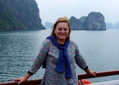 Dans la baie d'Halong Vietnam