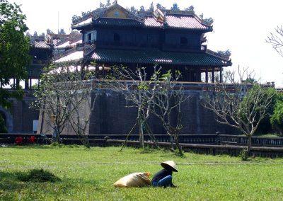 Entrée Palais royal Hué Vietnam