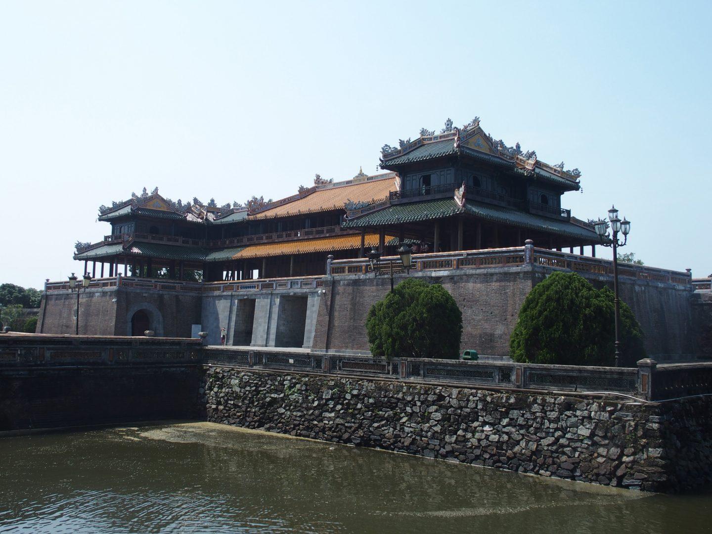 Entrée citadelle Hué Vietnam