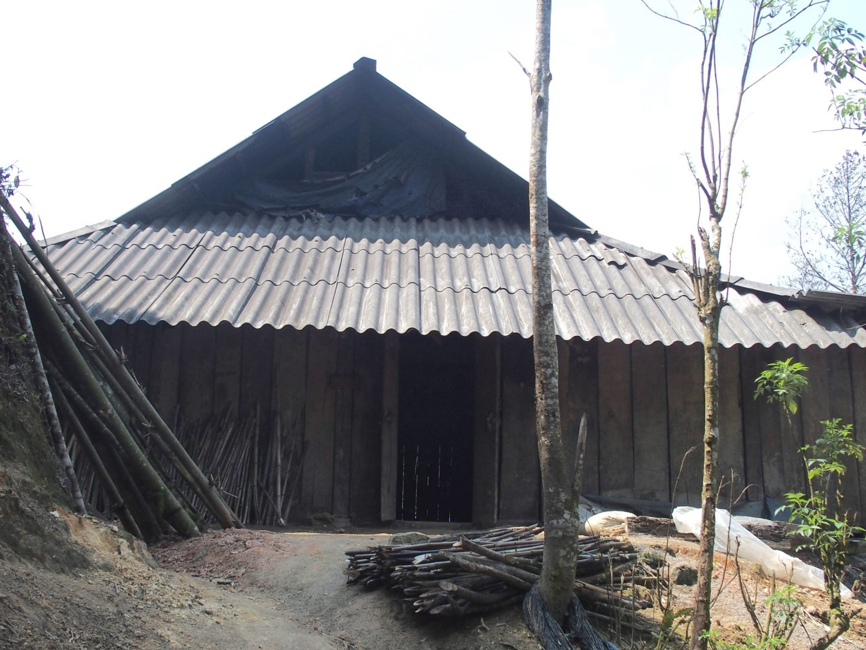 Entrée maison Olivier Ta Phin Vietnam