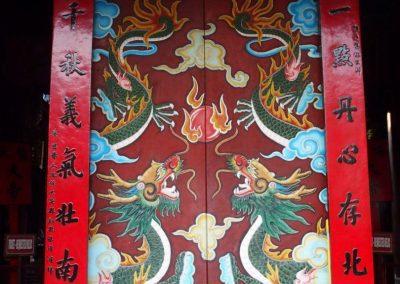 Entrée temple Hoï An Vietnam