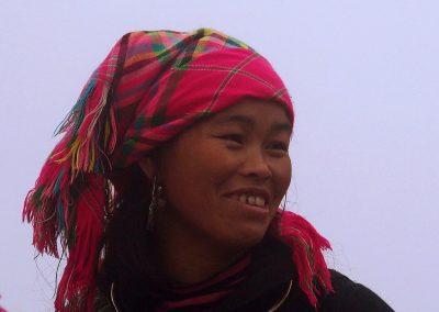 Femme Hmong Sapa Vietnam