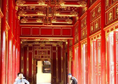 Galerie Cité impériale Hué Vietnam