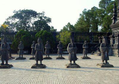 Garde impériale Hué Vietnam