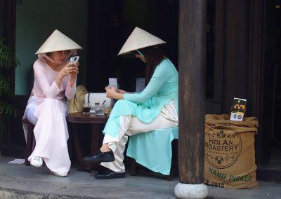 Jeunes filles Hoï An Vietnam