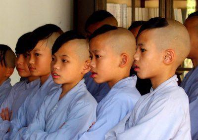 Jeunes moines Vietnam