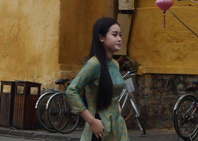 Jolie jeune vietnamienne Hoï An Vietnam