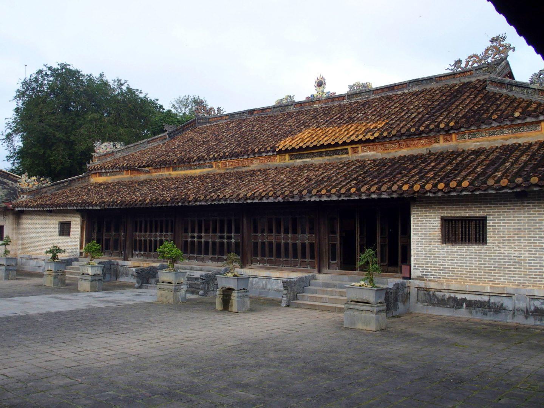 Pavillon mausolée Minh Mang Hué Vietnam