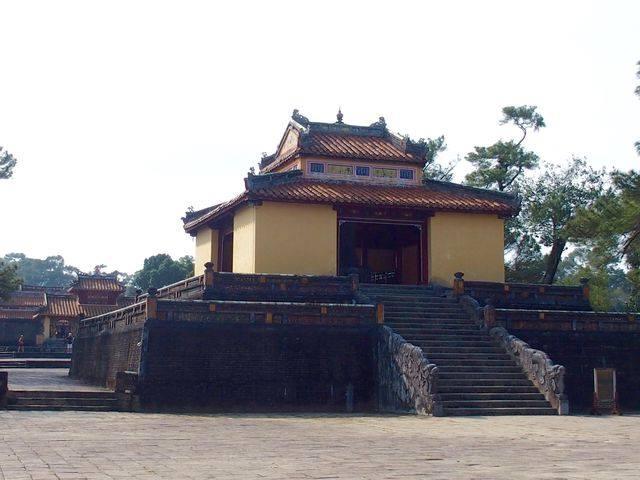 Pavillon mausolée Tu Duc Hué Vietnam