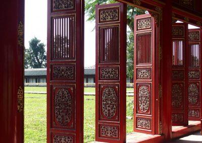 Portes Palais royal Vietnam
