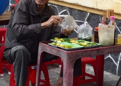 Préparation cuisine Hoï An Vietnam