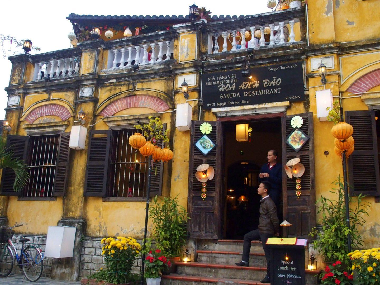 Restaurant centre Hoï An Vietnam