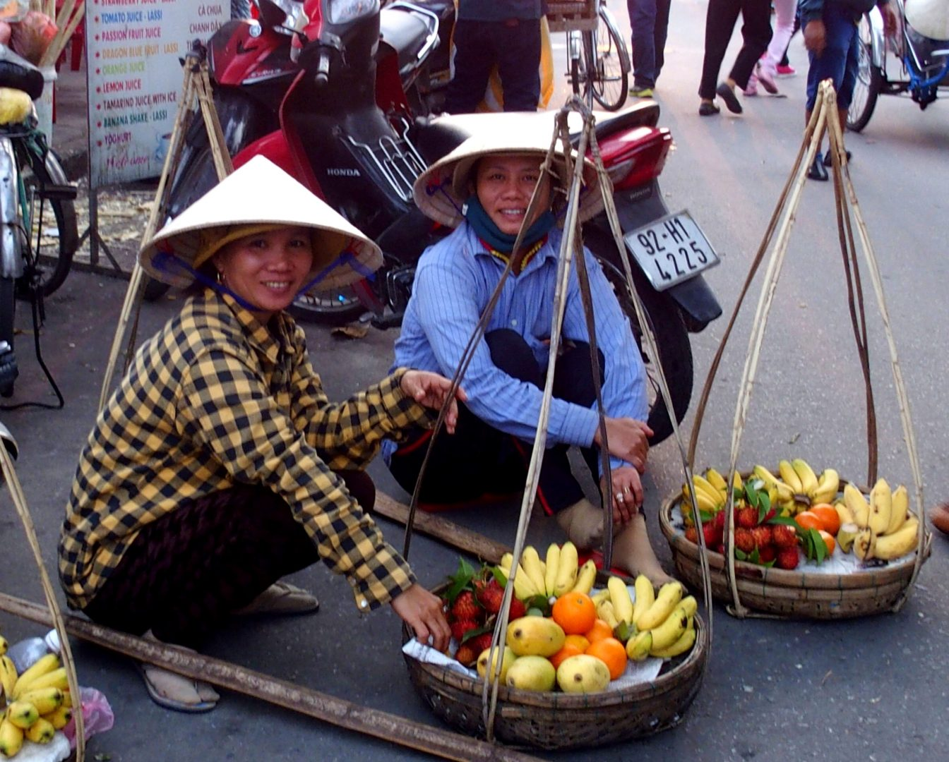 Vendeuses de fruits Vietnam