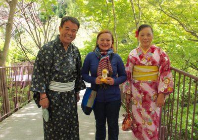 Avec famille japonaise et Couinn-Couinn Japon