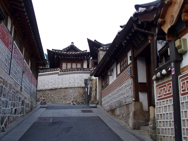 Bukchong quartier hanoks Seoul Corée du sud