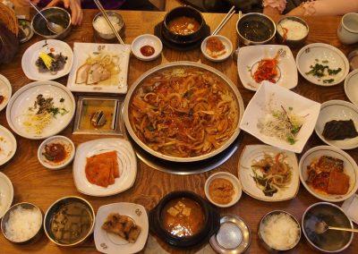 Gastronomie traditionnelle Corée du sud