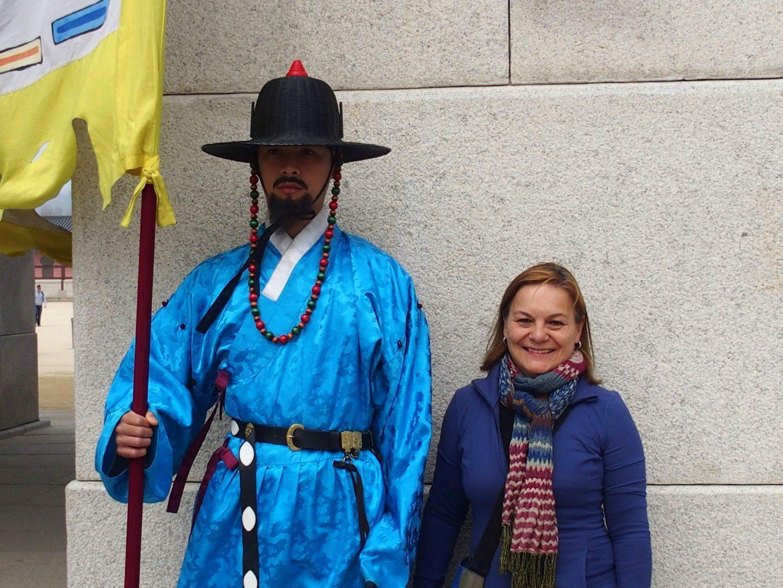 Grand garde royal Seoul Corée du sud