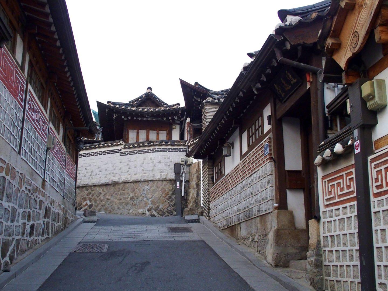 Hanok, maisons traditionnelles Corée du sud copie