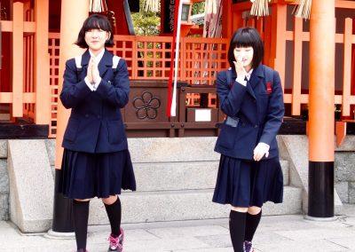 Jeunes étudiantes Japon