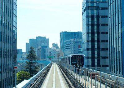 Métro sans conducteur Japon