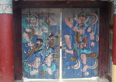 Peinture porte Corée du sud