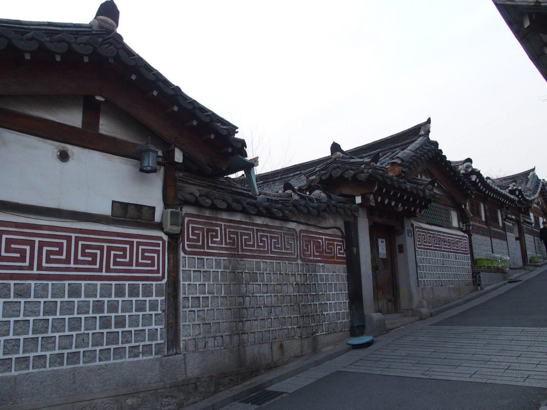 Quartier Bukchong Seoul Corée du sud