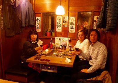 Restaurant à Kyoto Japon