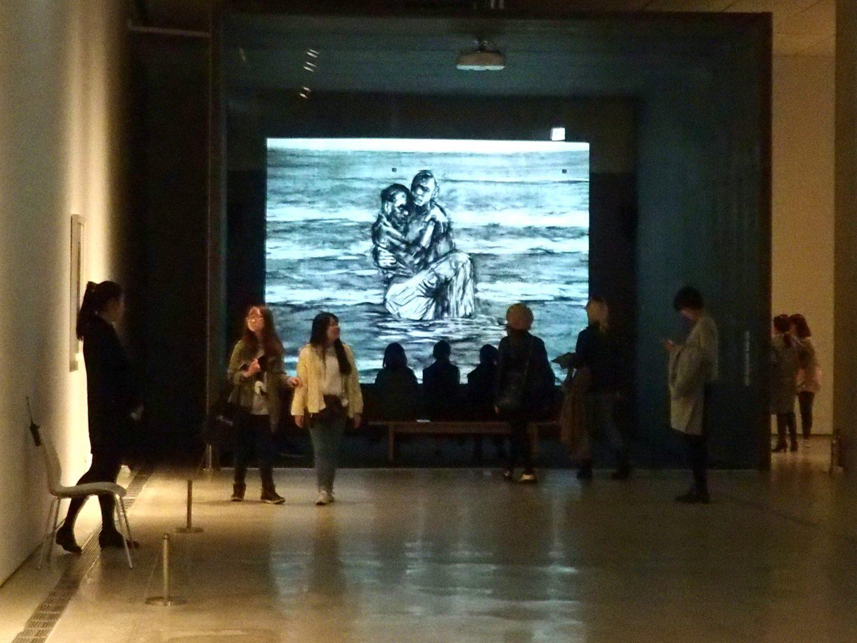 Salle du Musée Art contemporain Seoul Corée du sud