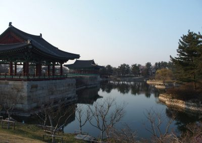 Temple Geyongju Corée du sud
